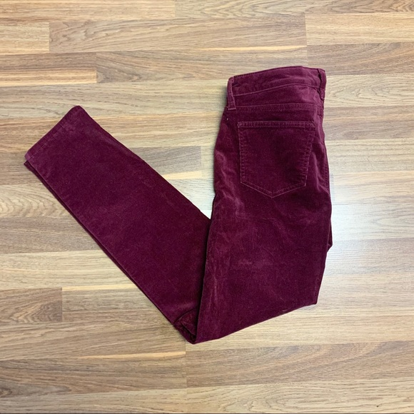 Joe Fresh Burgundy Pants